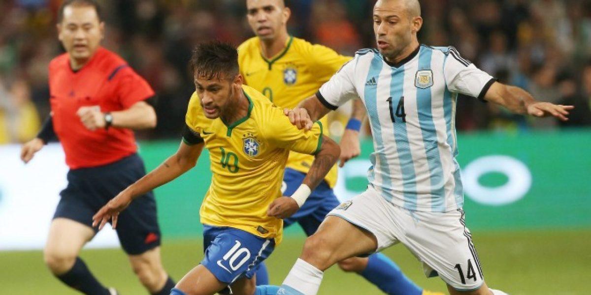 Video: ¿Qué opinará Luis Enrique? Las violentas patadas de Mascherano a Neymar