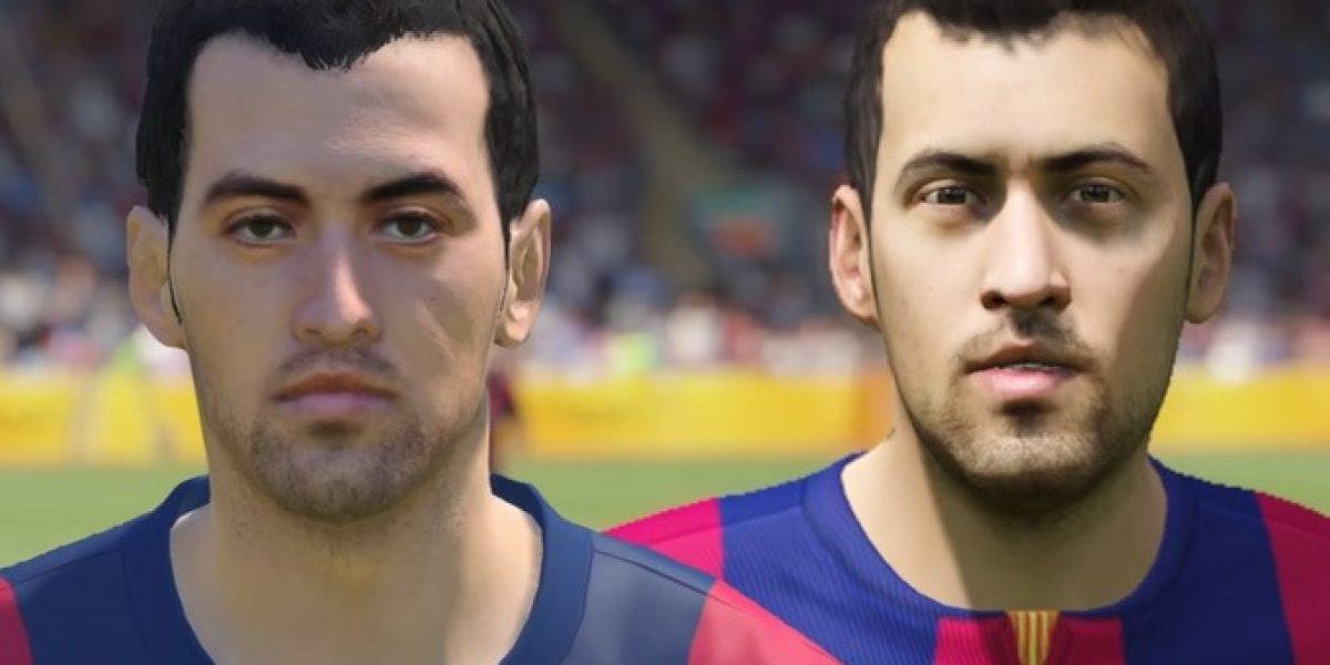 PES 15 vs FIFA 15: diferencias en los rostros de los jugadores más famosos del mundo