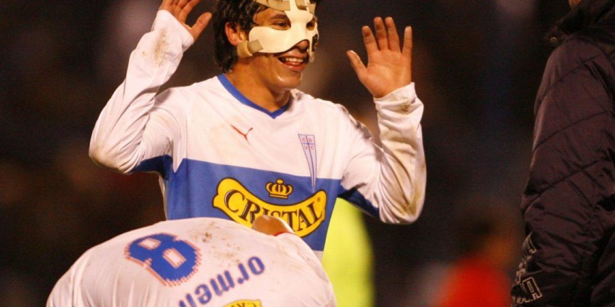 Galería: el golpe que obligó a un joven Gary Medel a usar máscar en 2008