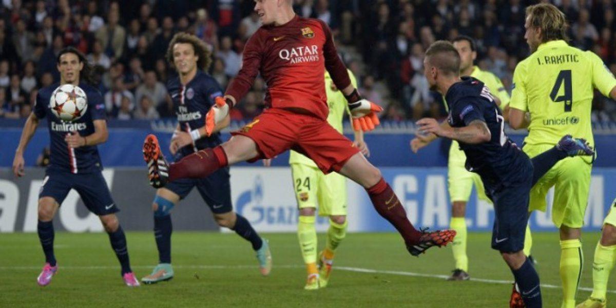 Rival de Bravo en el arco del Barcelona le echó la culpa a la mala suerte por su suplencia