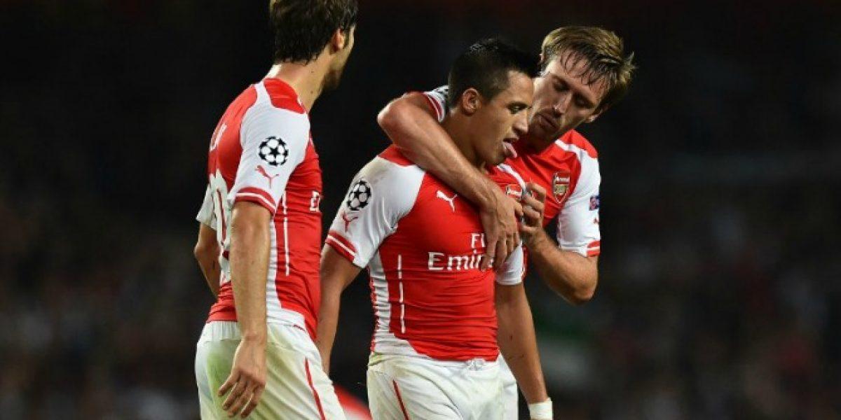 Siguen los elogios en Arsenal: