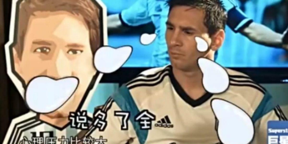 La irrespetuosa entrevista de la TV china a Messi