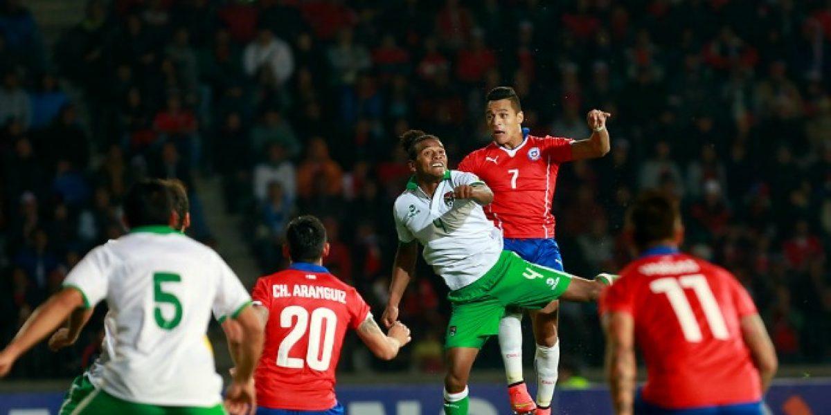 Uno a uno: La Roja quedó al debe en todas sus líneas en el examen contra Bolivia