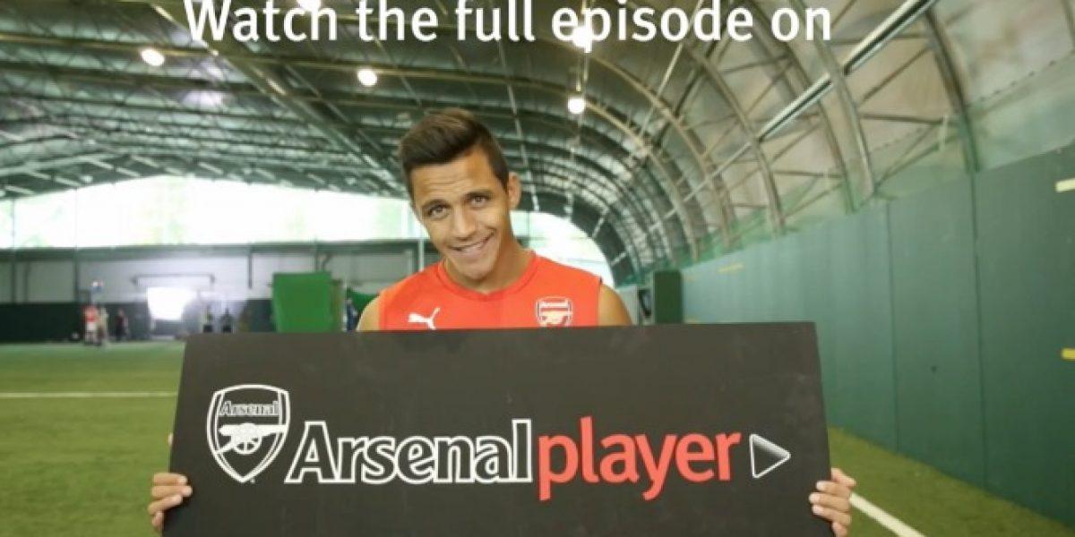 ¡Que se dediquen a jugar! Esto pasó con dos compañeros de Alexis en Arsenal que se pusieron a relatar