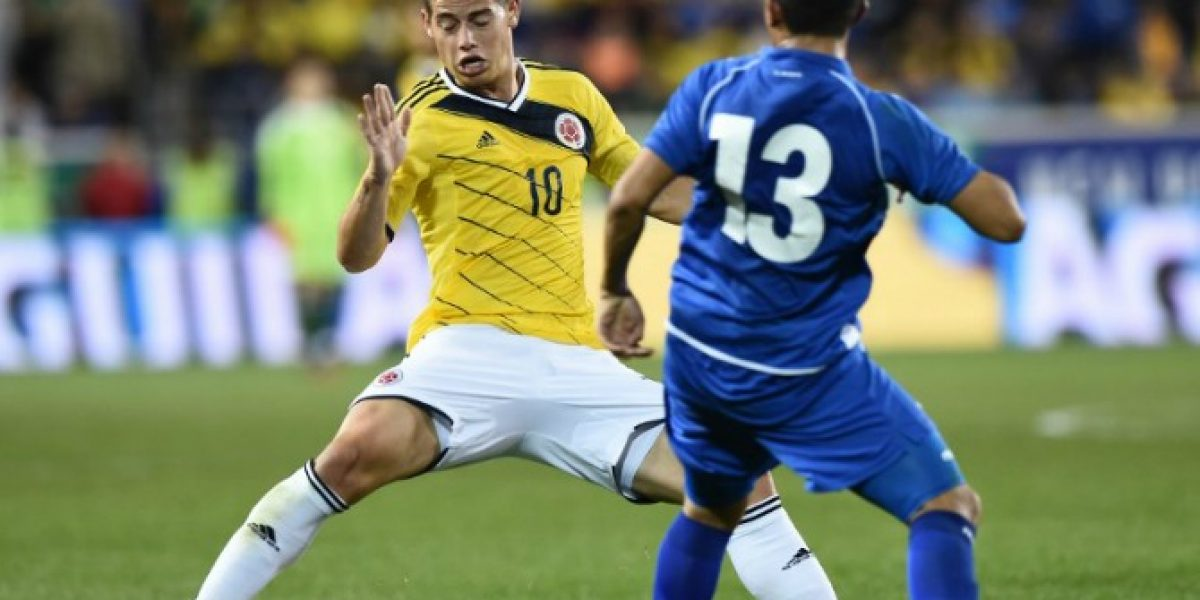 La avivada de Colombia que terminó en golazo de James Rodríguez