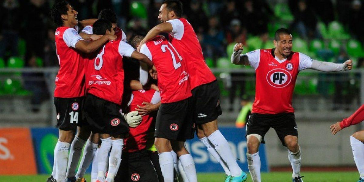 ¿Quién quedará de favorito? San Felipe eliminó en penales a Wanderers de Copa Chile