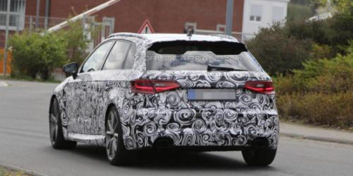 FOTOS ESPÍAS:Así sería el Audi RS3 Sportback