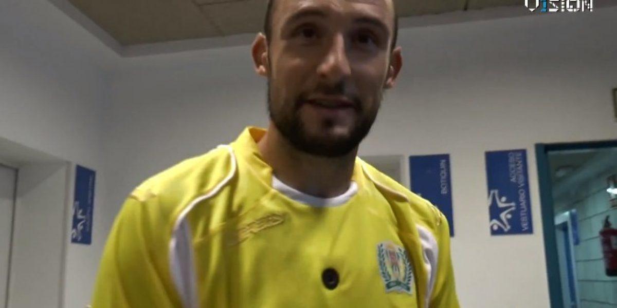 El Córdoba de la Liga BBVA jugó innovador amistoso con cámaras en las camisetas