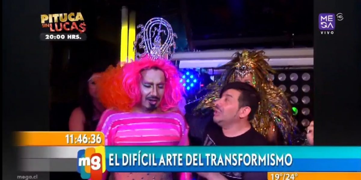 Jaime Coloma se transformó en mujer tras desafío de Kathy Salosny