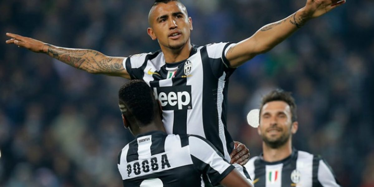 ¿Adiós Turín? Juventus tasó en millonaria cifra el traspaso de Arturo Vidal