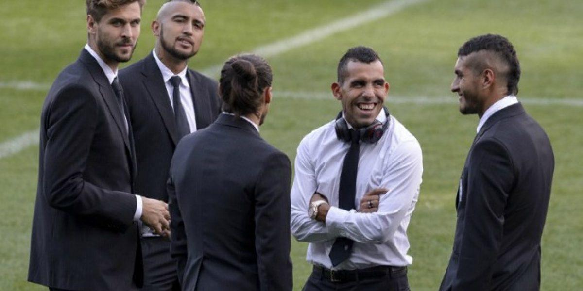 ¿Qué onda, Arturo? Vidal llegó tarde y