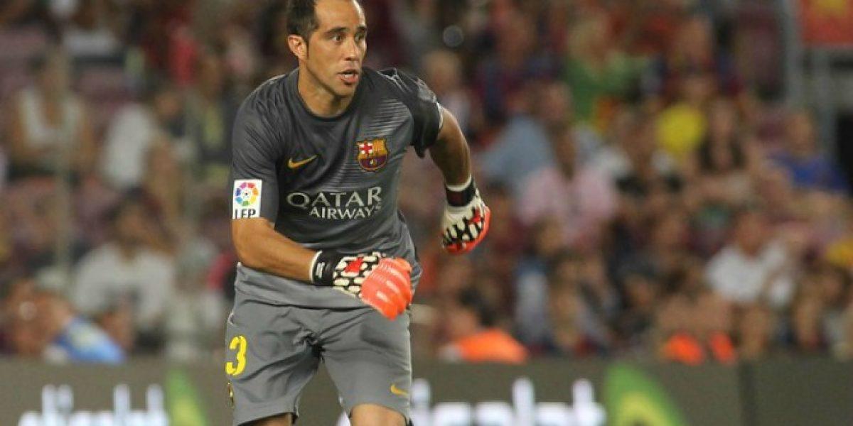 En España anticipan el derbi con Claudio Bravo como gran figura