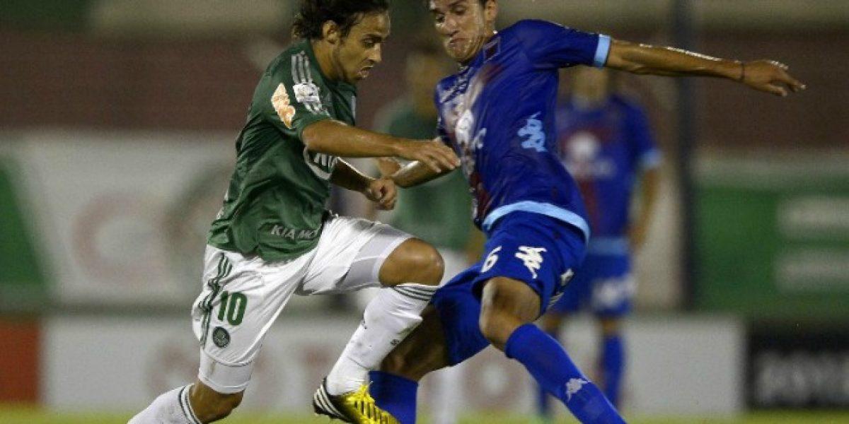 Valdivia se declaró feliz en Palmeiras y analiza renovación