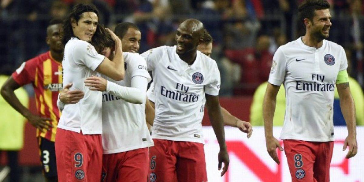Lens vs. PSG: el equipo de Cavani y Pastore lo dio vuelta