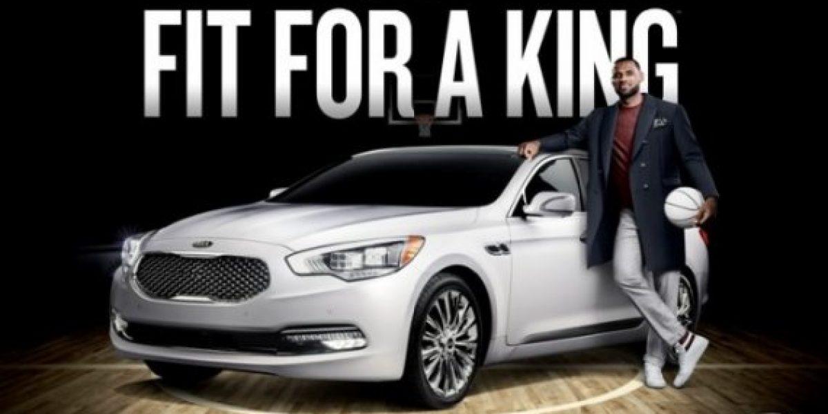 Lebron James es el nuevo embajador de Kia