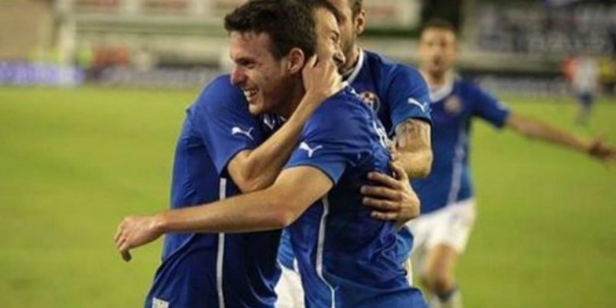 Ángelo entró para darle la victoria al Dinamo Zagreb