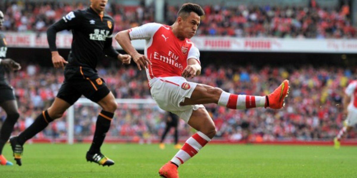 Con Alexis no alcanza: El Arsenal sólo igualó en casa ante el Hull