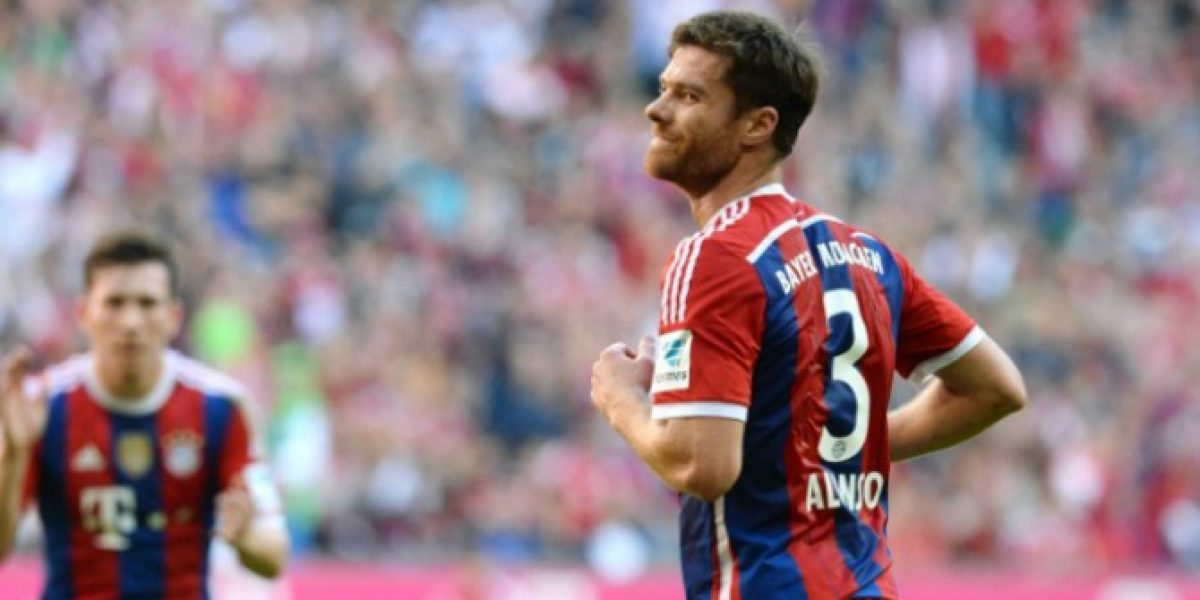 Video: La barrera saltó y Xabi Alonso se avivó