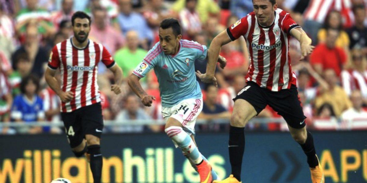 Orellana y Hernández fueron clave en valioso empate del Celta