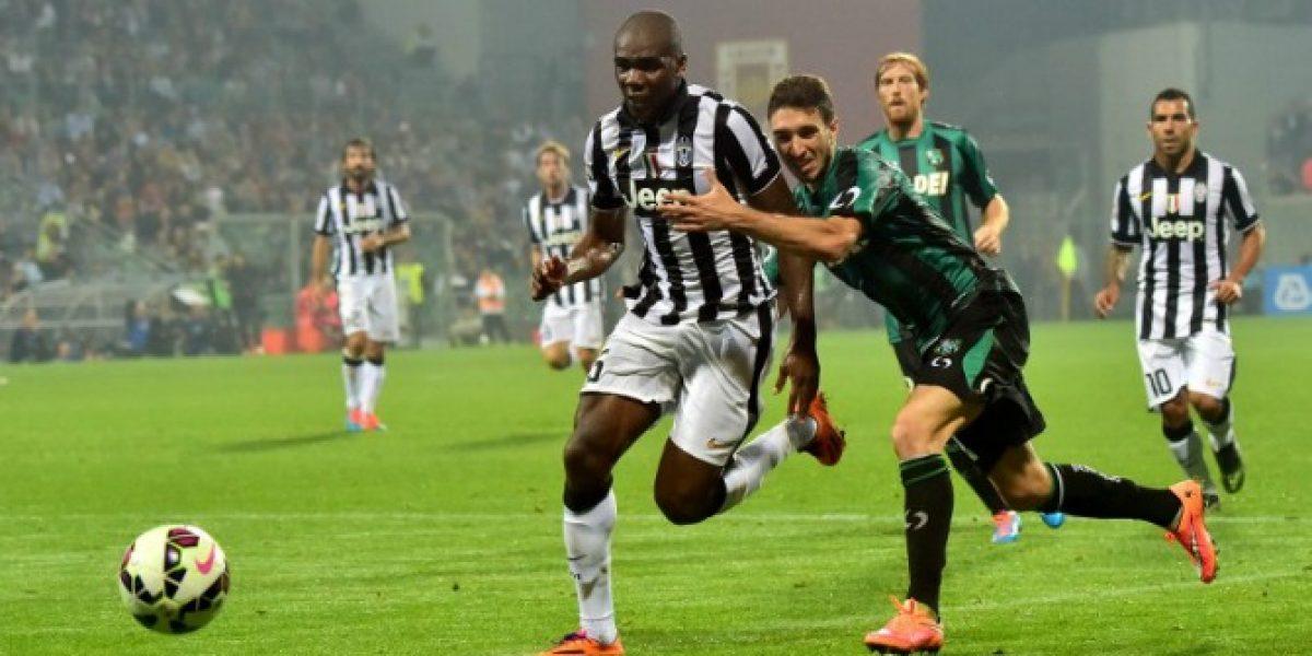¿Extrañaron a Arturo? Sin Vidal, Juventus apenas igualó ante Sassuolo