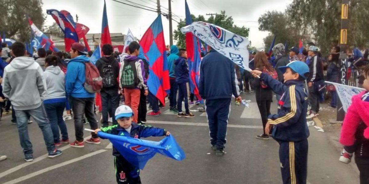 Galería: las mejores imágenes del multitudinario banderazo de la U en el CDA