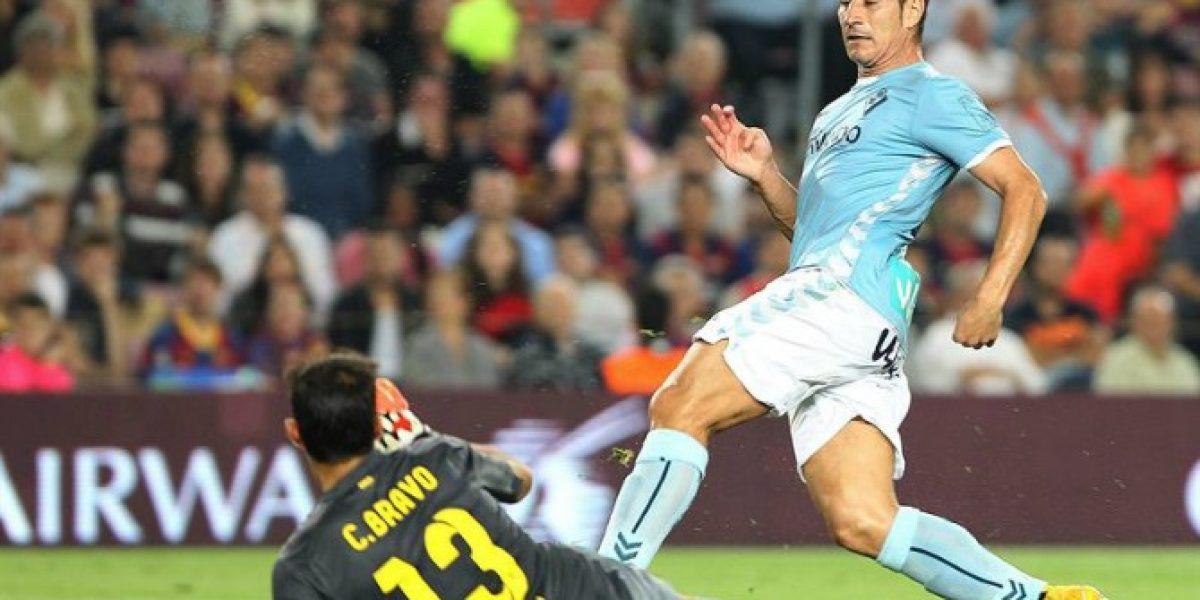 Barcelona derrotó 3-0 a Eibar con Claudio Bravo como titular
