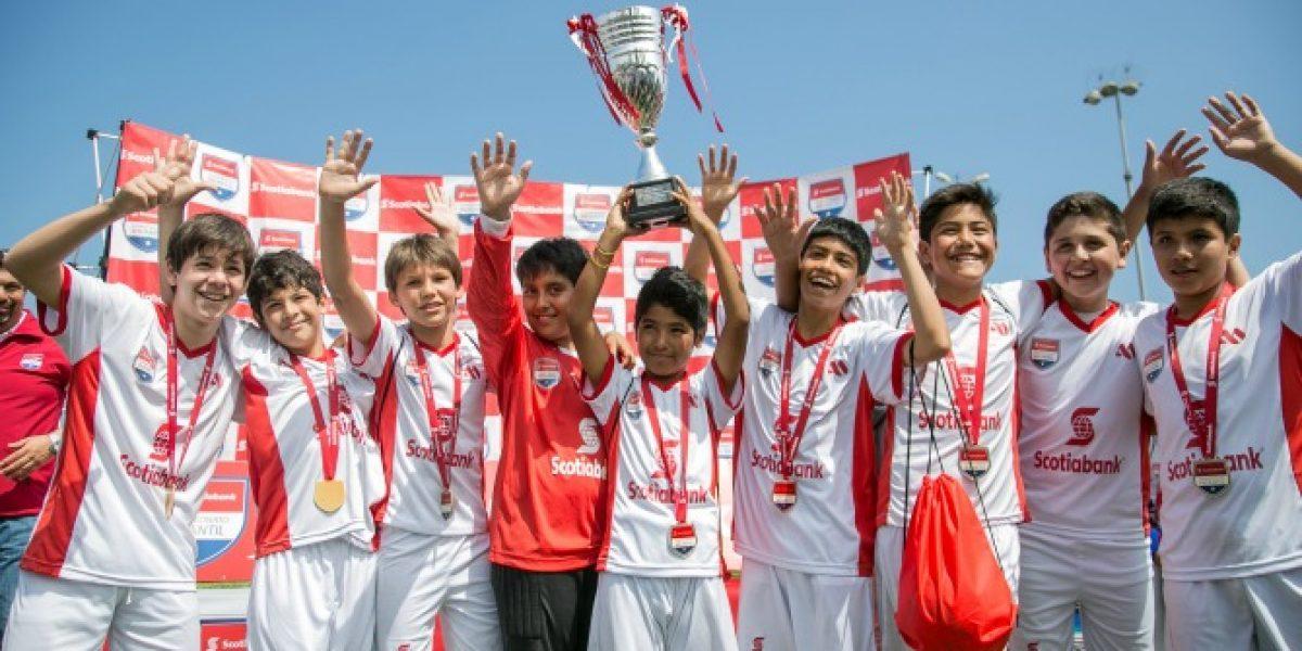Colegio British School se adjudica el Campeonato Nacional Infantil Scotiabank de Fútbol en Antofagasta
