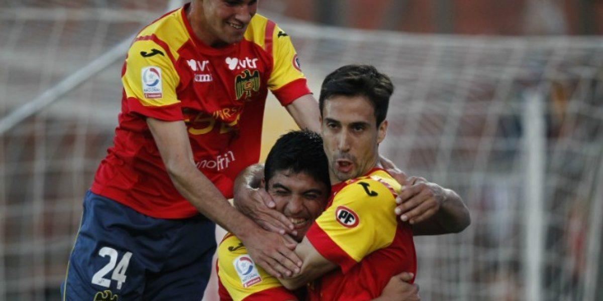 Unión Española le ganó en la agonía a un complicado Cobreloa