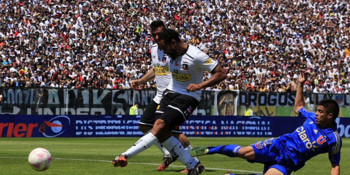 Así fue el golazo de Beausejour para el 2-0 de Colo Colo sobre la U