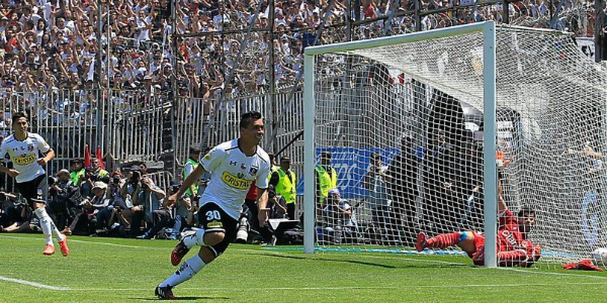 Así vivimos la victoria de Colo Colo sobre la U en el Superclásico