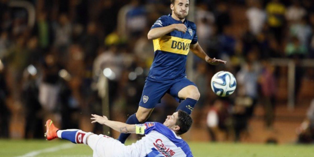 Chapita Fuenzalida se llena de confianza en Boca tras jugar su primer partido completo