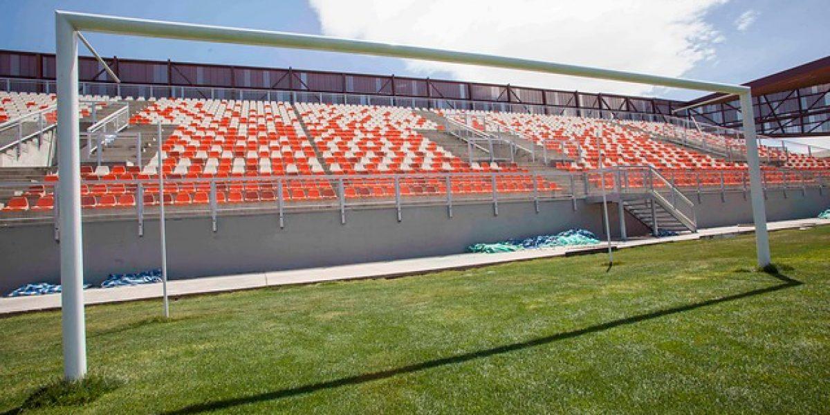 El hermoso nuevo estadio de Calama ya tiene nombre