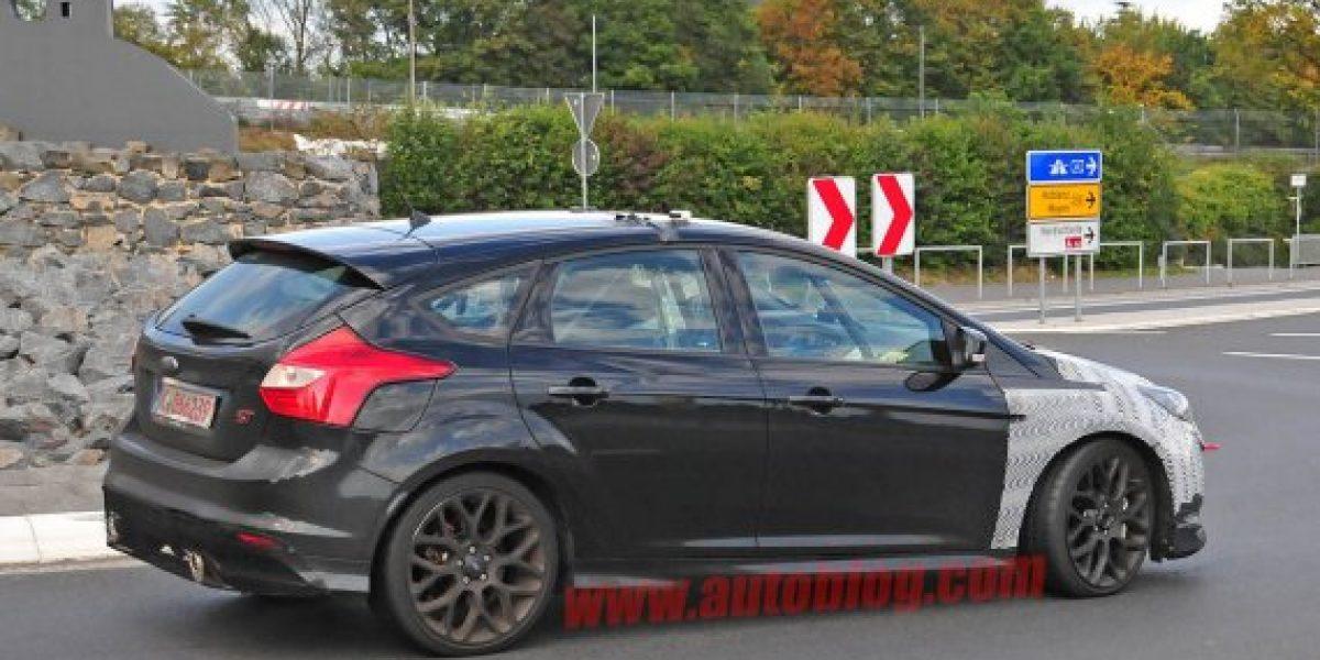 FOTOS ESPÍAS:Este sería el nuevo Ford Focus RS
