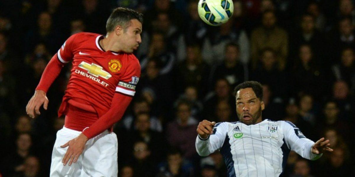 El United de Van Gaal sigue sin convencer y sólo logró un pobre empate ante el Albion