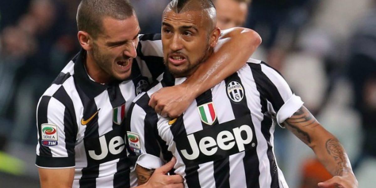 DT de Juventus valoró el descanso que le dieron a Vidal y lo confirmó de titular