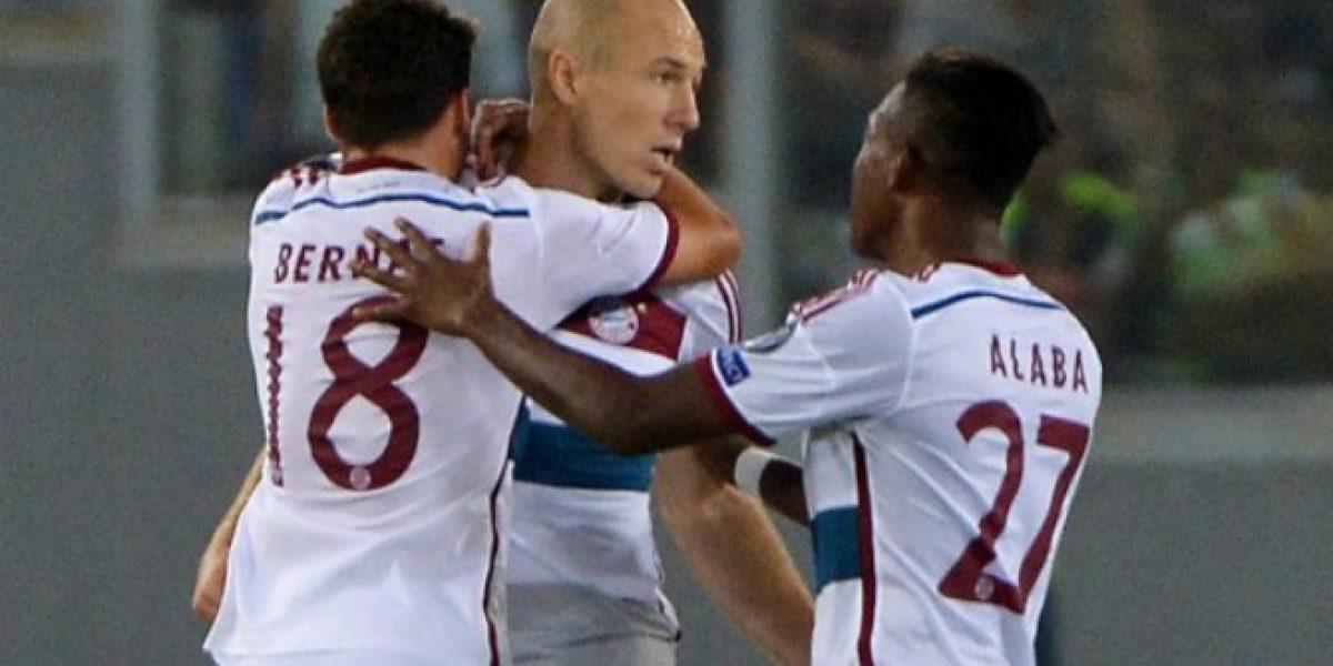 Video: ¡Crack! el tremendo golazo de Arjen Robben en la Champions