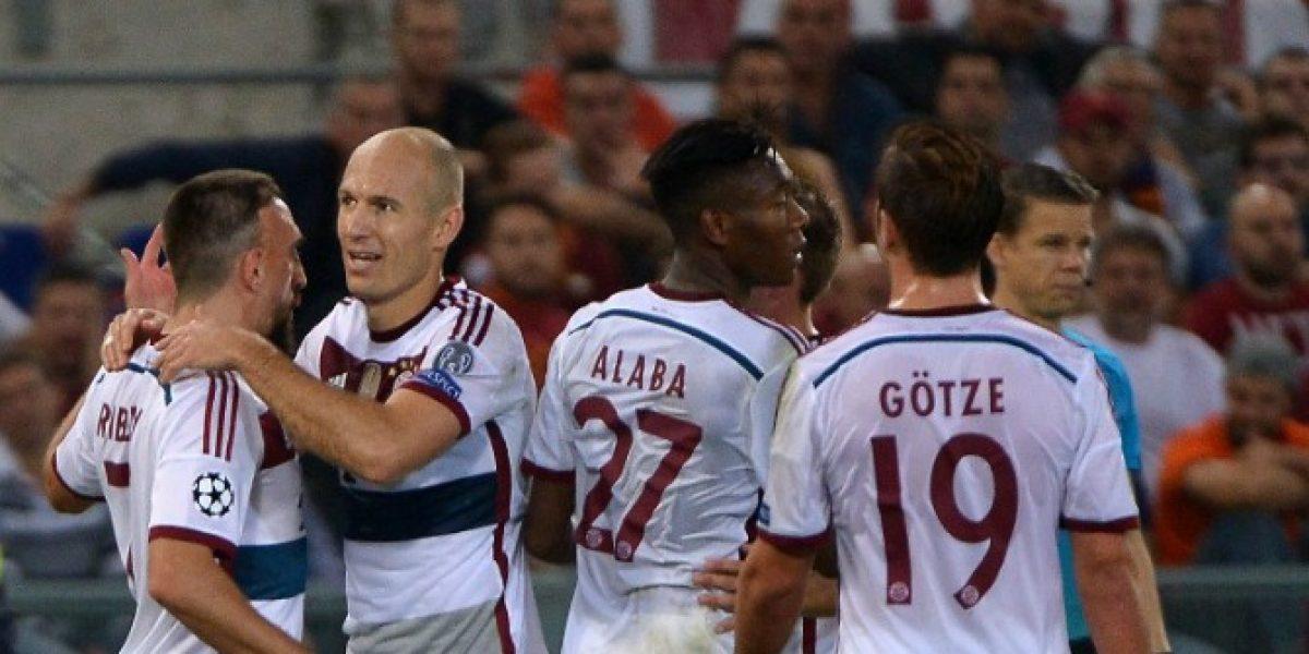 Video: ¡Una clase de fútbol! El Bayern de Pep le propinó un 7-1 a domicilio a la Roma