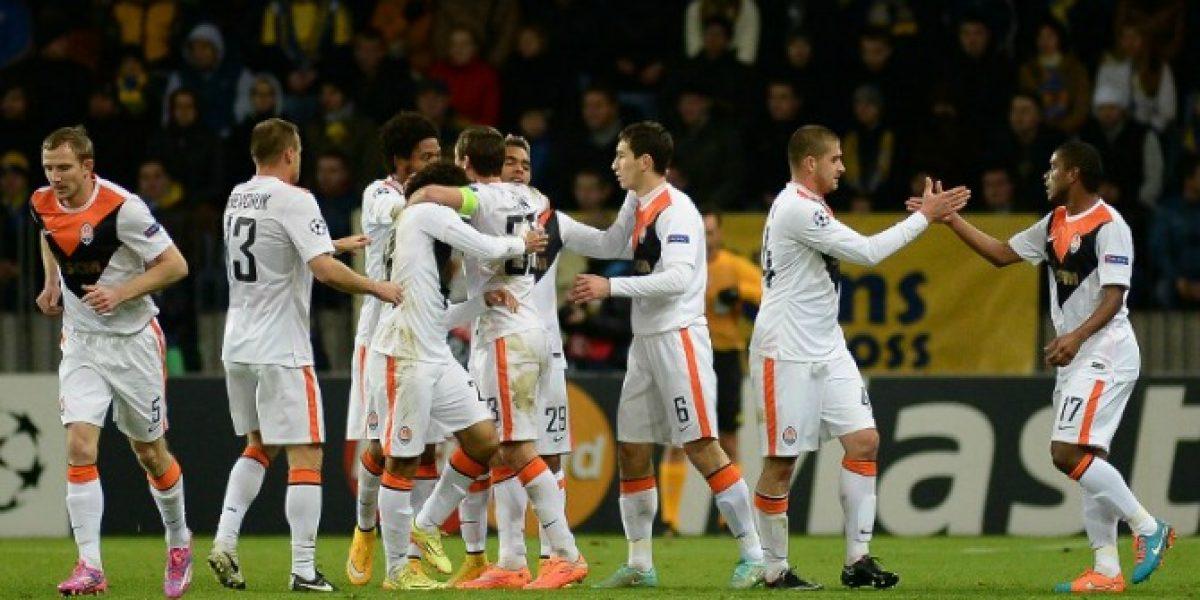 Video: El festín que se dio Shakhtar Donetsk goleando al BATE en la Champions