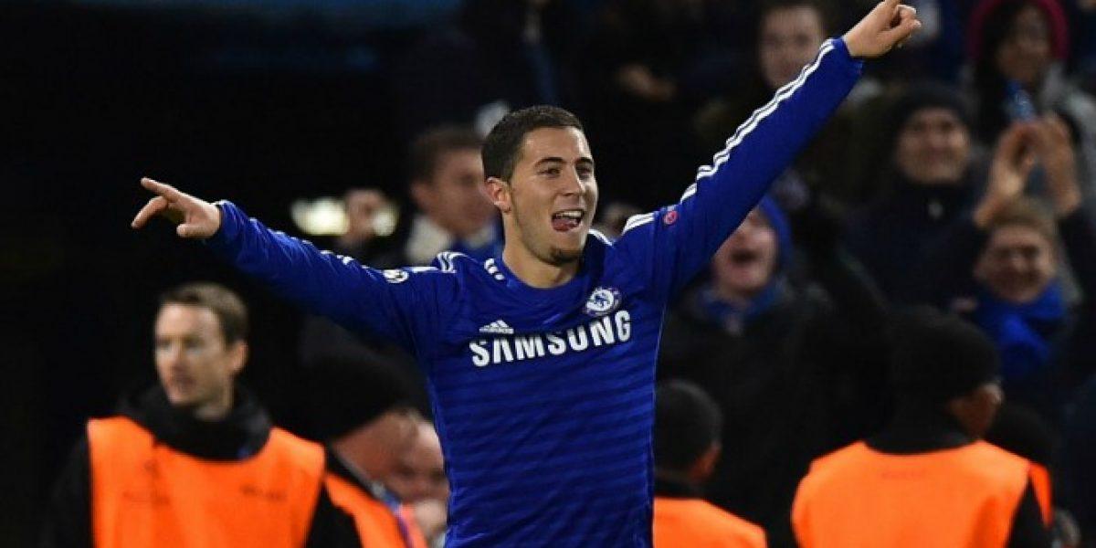 Video: El Chelsea de Mou goleó al débil Maribor con un Hazard sobresaliente