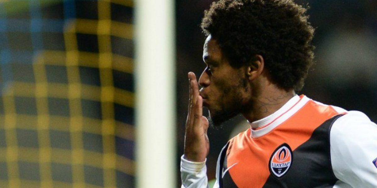 Las marcas que quebró Luiz Adriano al anotar cinco goles en un duelo de Champions