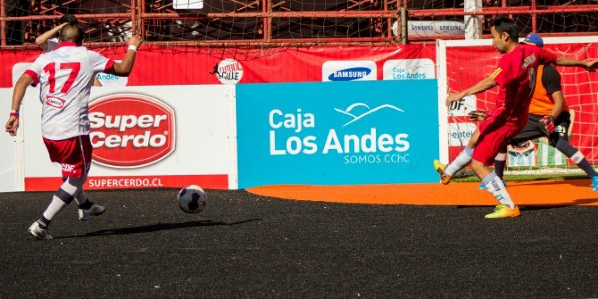 Chile sigue luciéndose en el Mundial de Fútbol Calle
