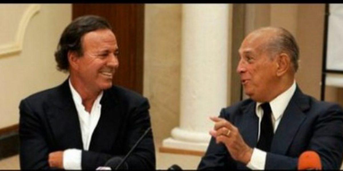 El conmovedor mensaje de despedida de Julio Iglesias a su amigo Óscar de la Renta