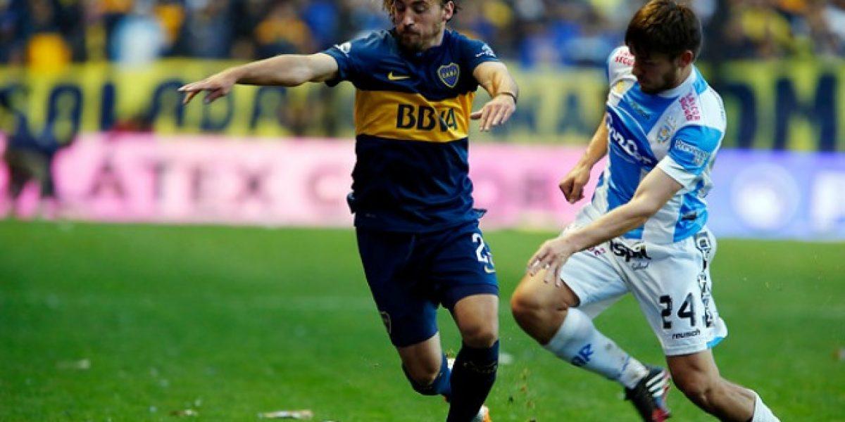 José Pedro Fuenzalida será titular en Boca para visita a Capiatá por la Sudamericana