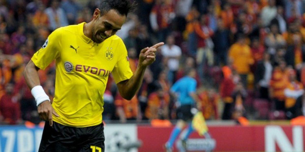 Se candidatea: El Borussia Dortmund goleó a domicilio al Galatasaray