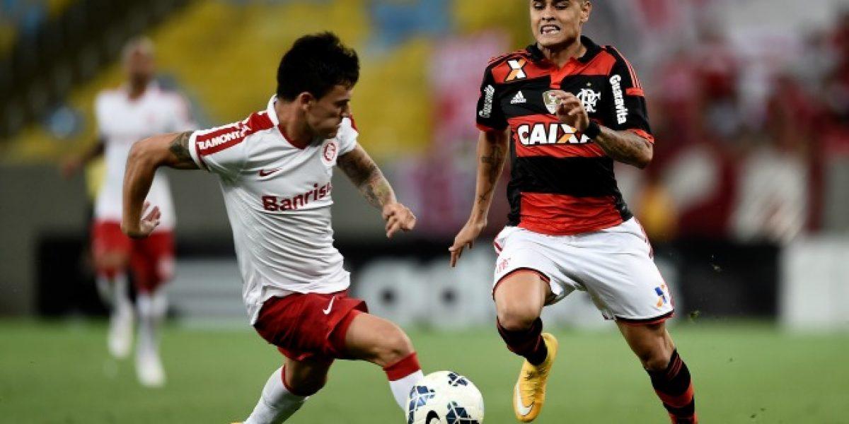 El Inter de Charles cayó ante Flamengo y cada vez está más lejos de la cima