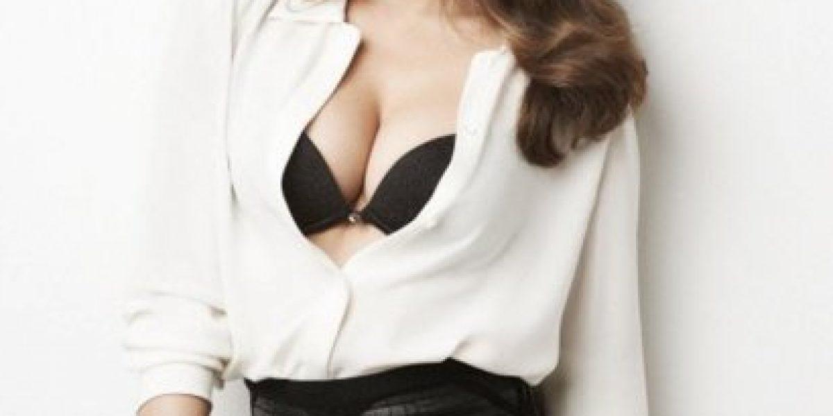 Miranda Kerr derrocha sensualidad para campaña de lencería