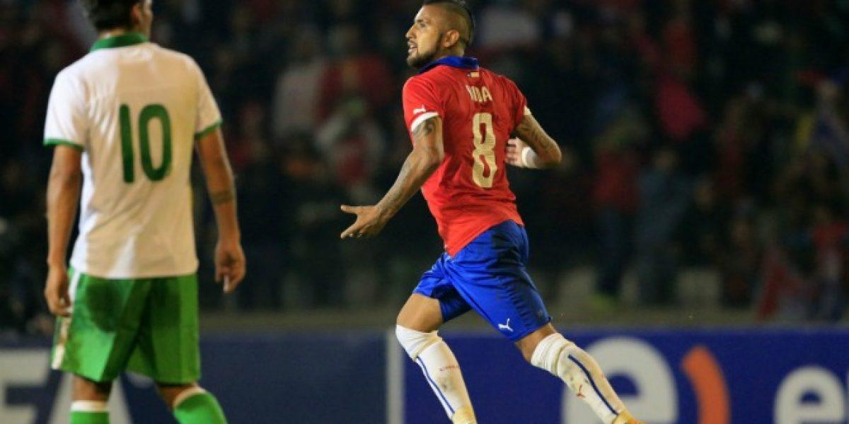 La Roja cayó en la clasificación del ranking de la FIFA