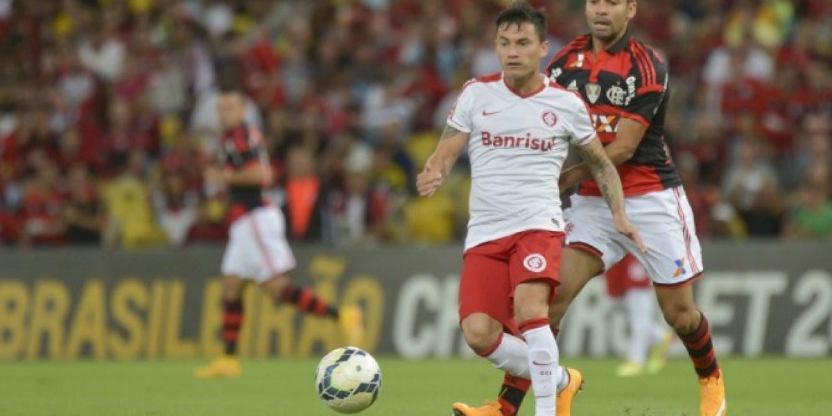 Inter de Porto Alegre no quiere que Aránguiz juegue amistosos con la Roja