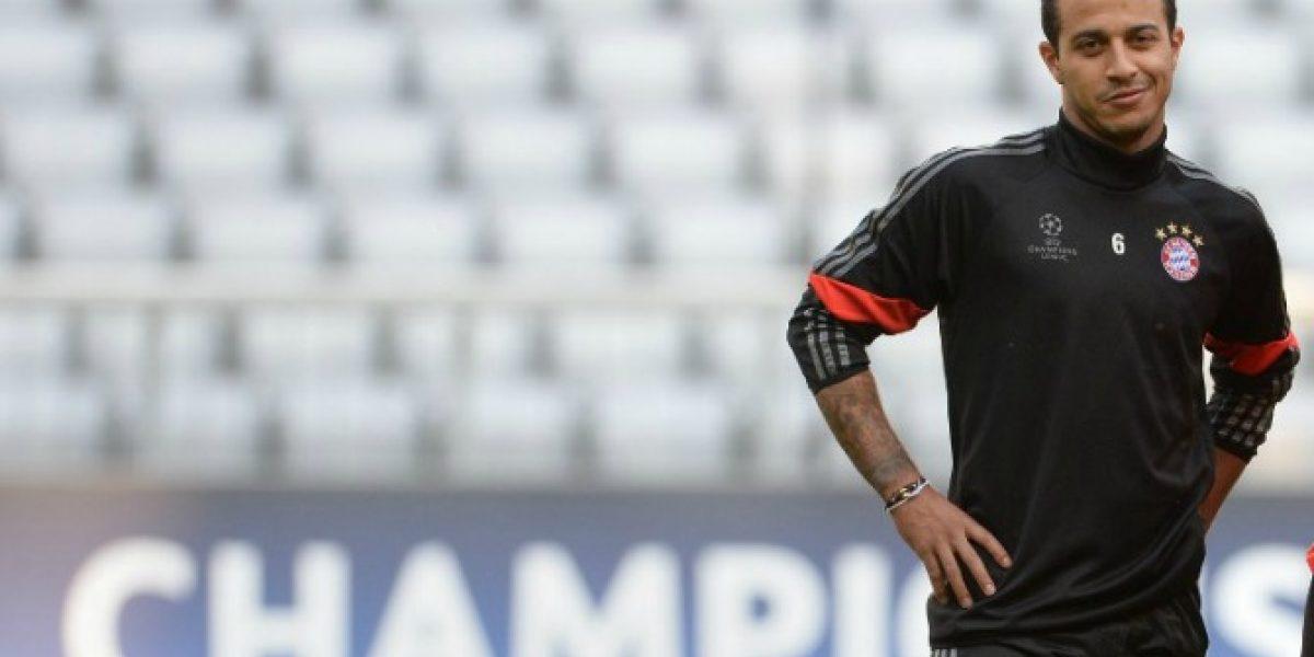 Otra vez Thiago: fue operado de ligamentos por doctor de Vidal