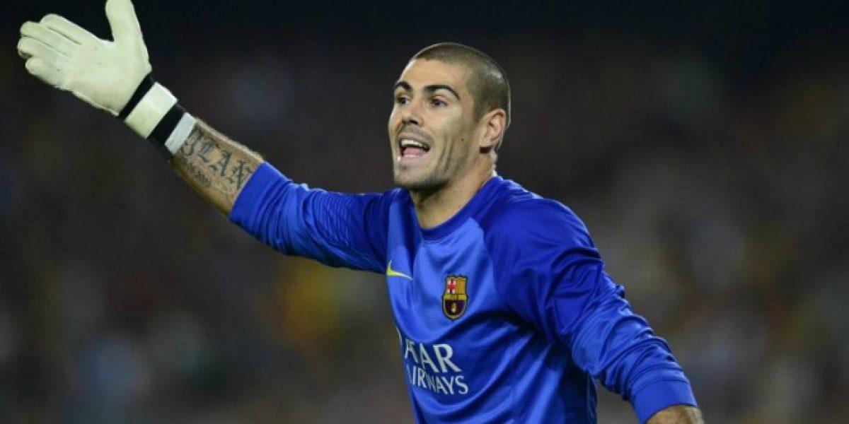 ¿Pensará en ficharlo? Van Gaal invitó a Valdés a entrenar con el United